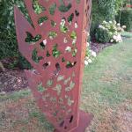 Abstract Corten Leaf