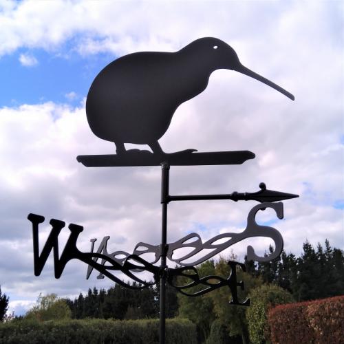 Kiwi weather vane
