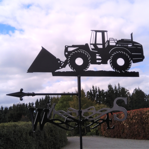 Loader weather vane