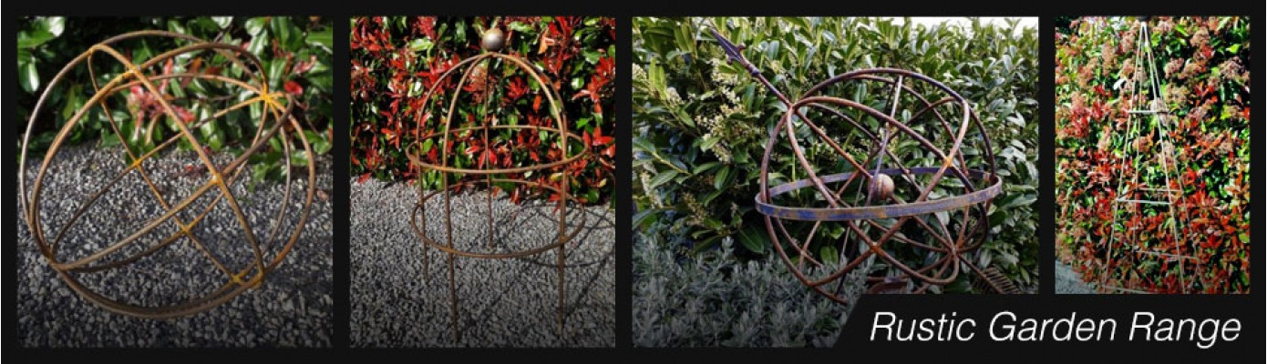 Rustic garden range