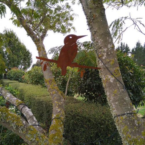 Corten Tree Birds