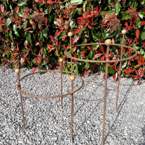 Single Ring Herbaceous Support