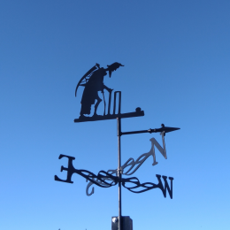 Father Time Weather Vane