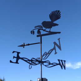 Fantail weather vane