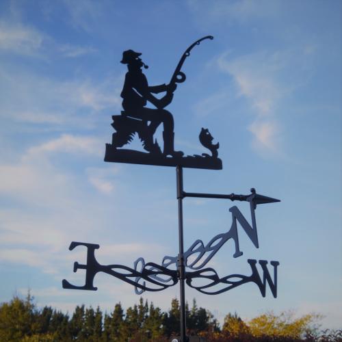 Fisherman Weather Vane