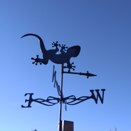 Gecko Weather Vane
