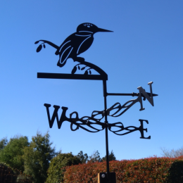 Kingfisher weather vane