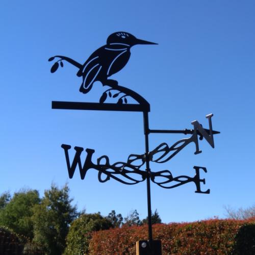 Kingfisher weather vane