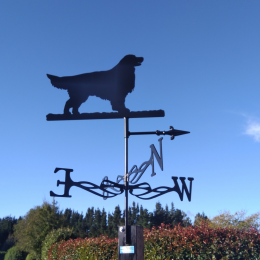 Retriever Weather Vane